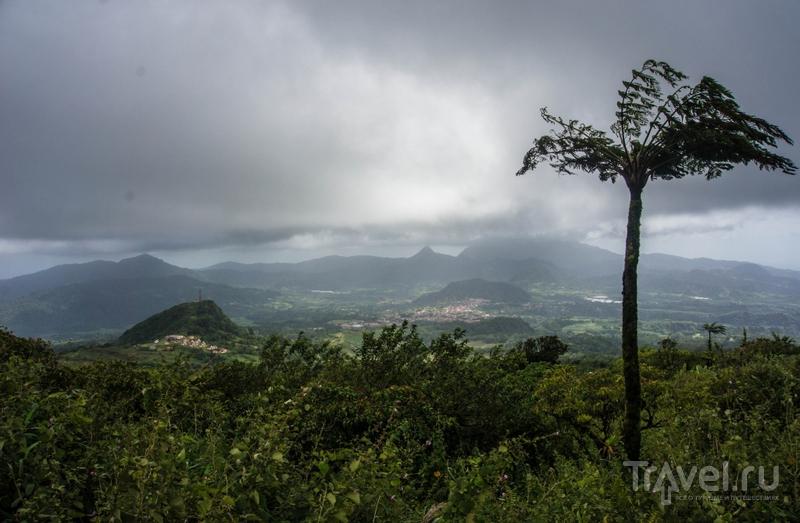 Вулкан Монтань-Пеле, Мартиника / Фото с Мартиники