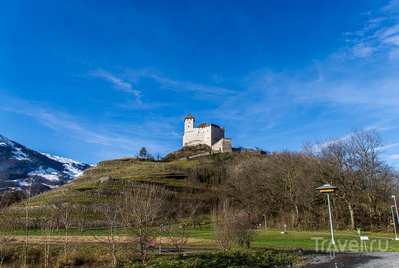 Замок Гутенберг в коммуне Бальцерс, Лихтенштейн / Фото из Лихтенштейна
