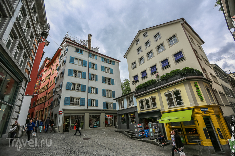 Однодневный набег на консервативный Цюрих и модный Милан / Швейцария