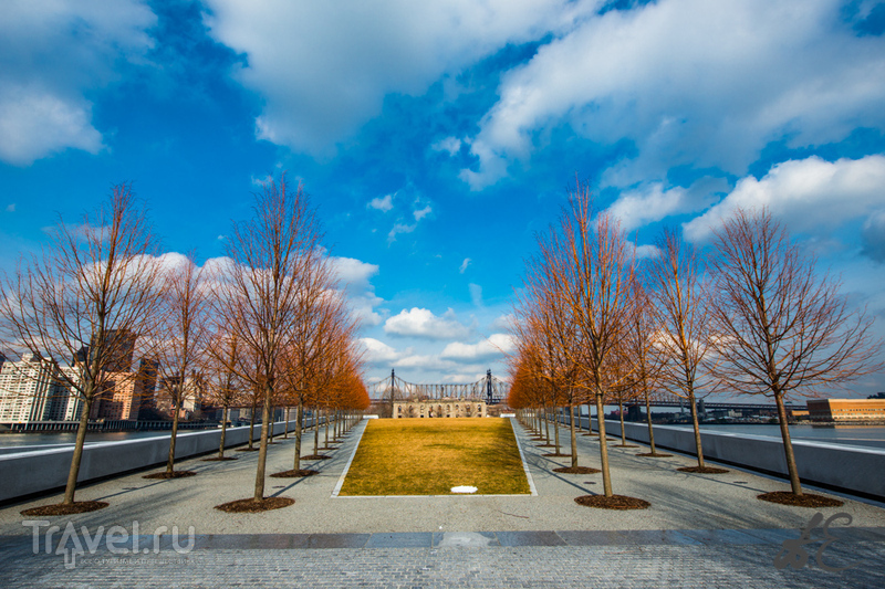 New-York. Franklin Roosevelt Park / США