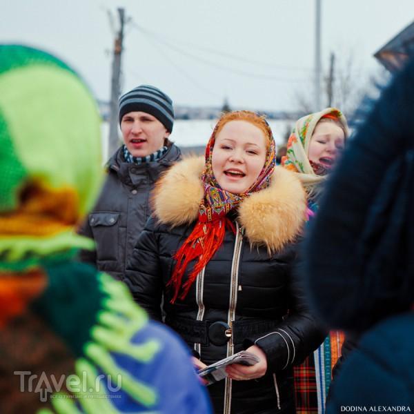 Веселая масленица в деревне Лудорвай / Россия