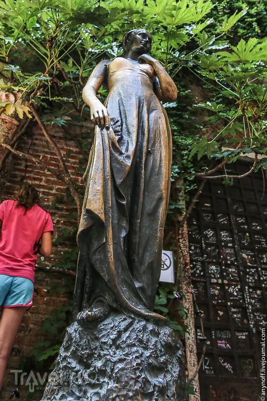 Шекспировская Верона или как эксплуатируется сказка / Фото из Италии