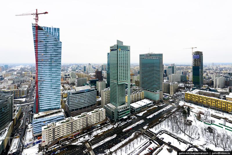 Небоскреб Rondo 1, Варшава / Фото из Польши