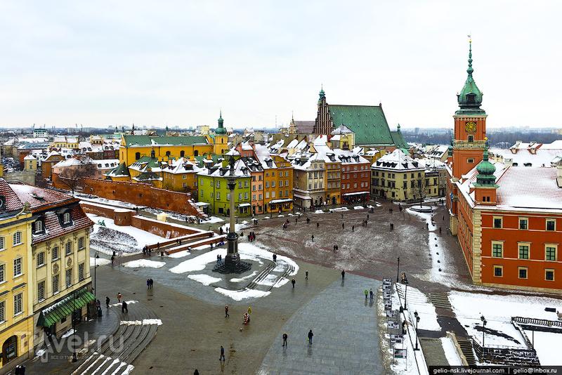 Замковая площадь, Варшава / Фото из Польши