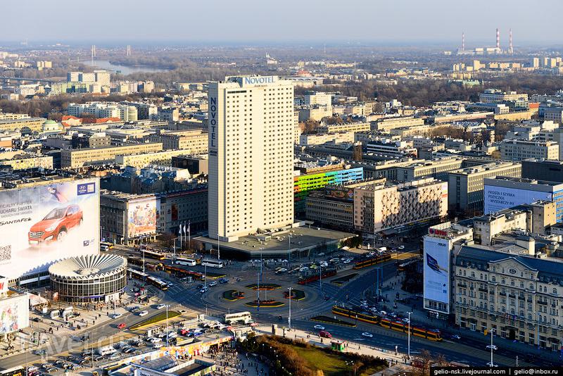 Гостиница Novotel, Варшава / Фото из Польши