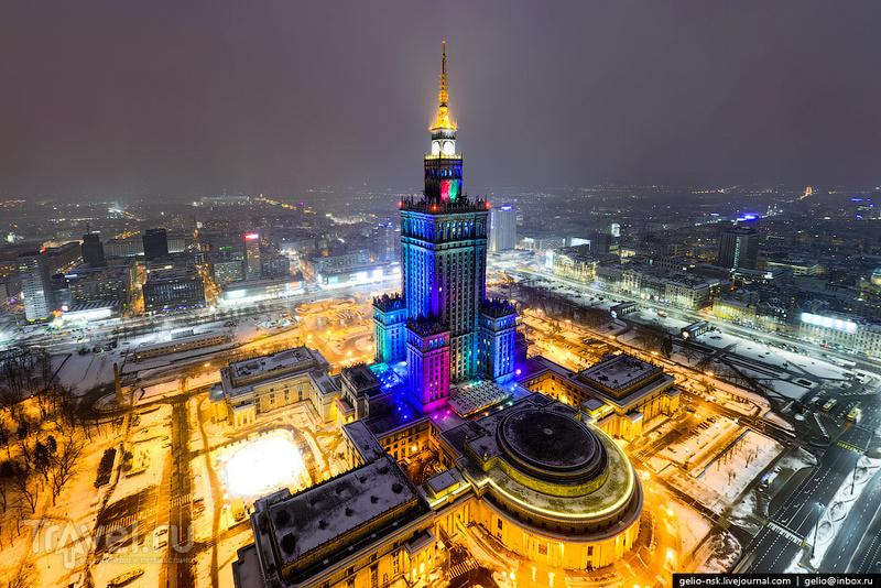 Дворец культуры и науки (Pałac Kultury i Nauki) / Фото из Польши