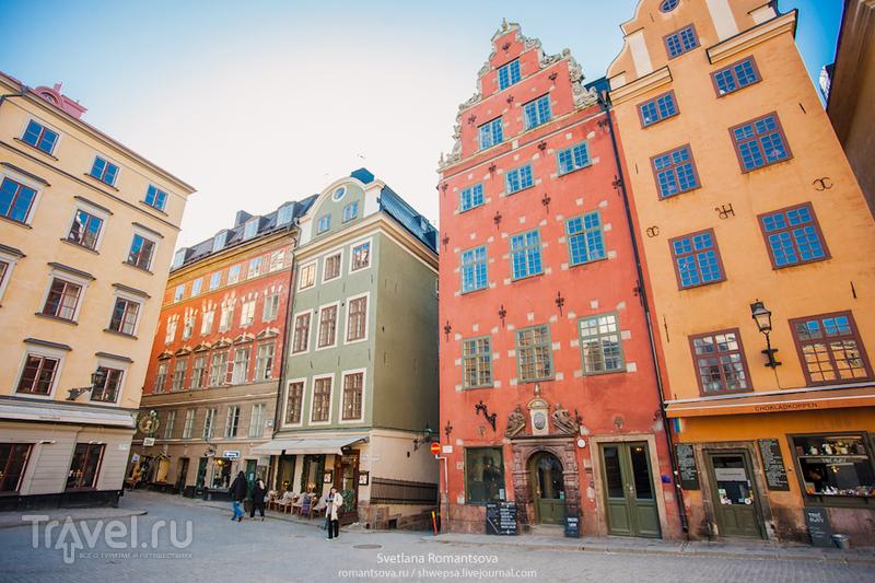 Площадь Сторторьет, Стокгольм / Фото из Швеции