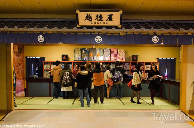 Японские общественные бани Оэдо Онсэн Моногатари / Фото из Японии