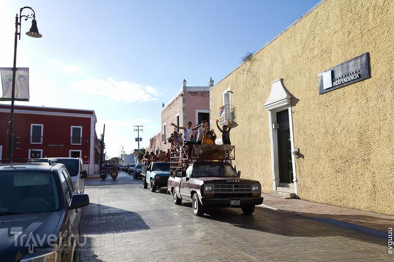 В городе Вальядолид, Мексика / Фото из Мексики