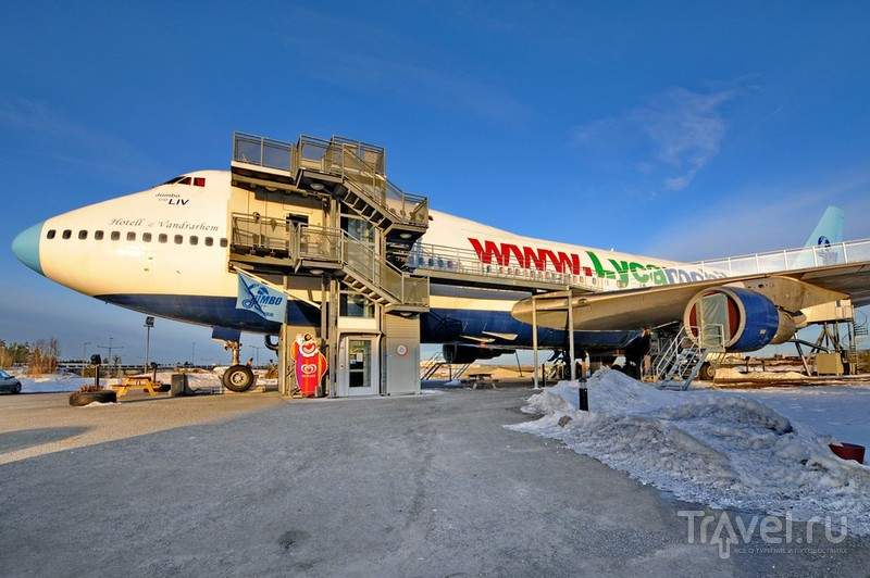 Отель Jumbo Stay в аэропорту Арланда, Швеция / Фото из Швеции