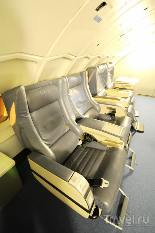 Испытано на себе: отель-самолет Боинг-747 в Стокгольме / Фото из Швеции
