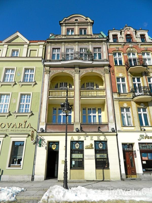 Площадь Старого рынка в Познани, Польша / Фото из Польши