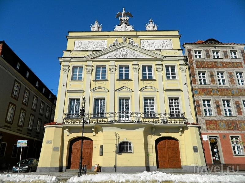 Дворец Дзялыньских в Познани, Польша / Фото из Польши