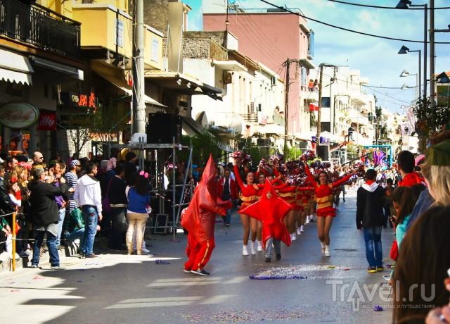 Большой карнавал в Ретимно / Греция