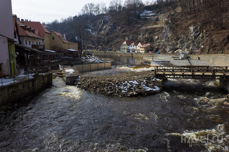 Река Влтава / Фото из Чехии
