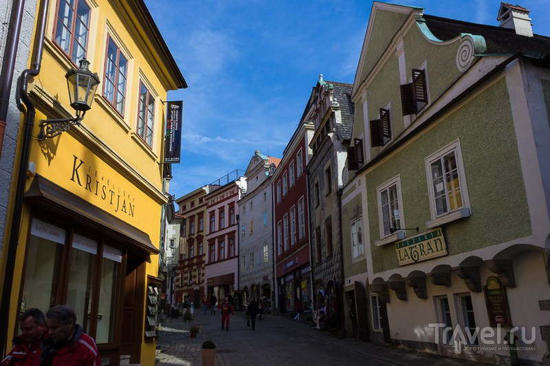 Прогулки по Чешскому Крумлову / Фото из Чехии