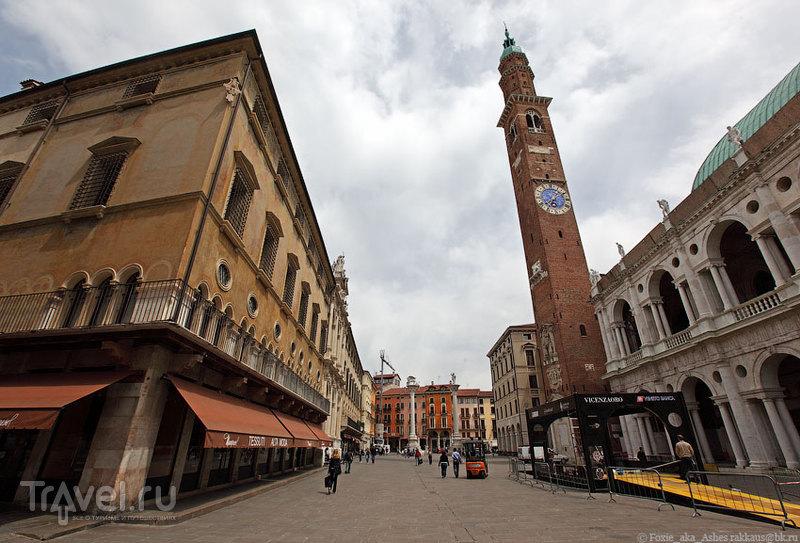 Торре дей Биссари в Виченце, Италия / Фото из Италии