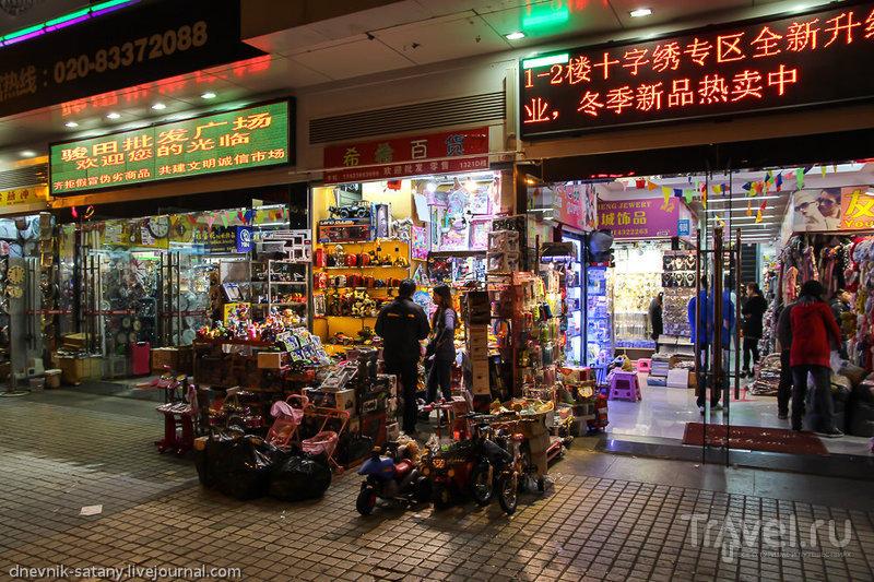 Гуанчжоу: прогулки по улицам / Китай