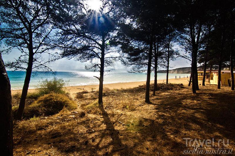 Пляжи южного побережья Сицилии / Италия