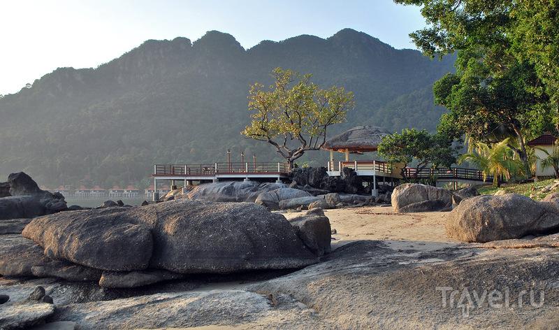 "Пляж отеля ""Мутиара"" на Лангкави / Фото из Малайзии"