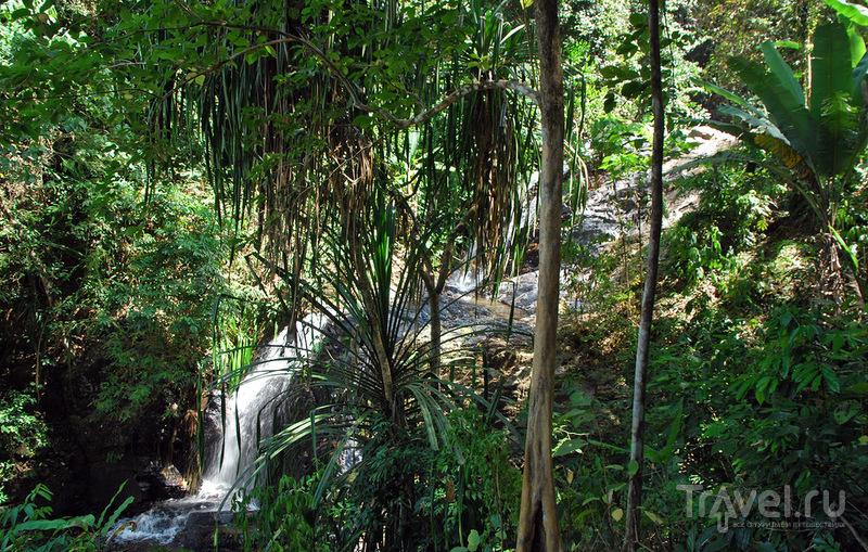 Водопад Дуриан (Durian Perangin Waterfall) на Лангкави / Фото из Малайзии