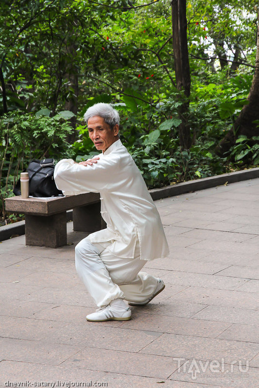 Гуанчжоу: парк Юэсю / Китай