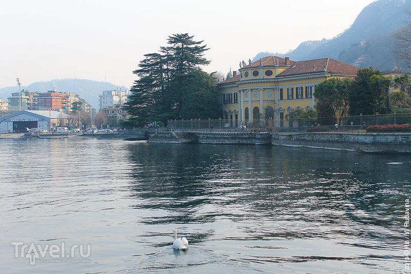 Комо - город у озера / Фото из Италии