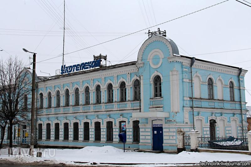 Пестрые дома Бердичева / Украина
