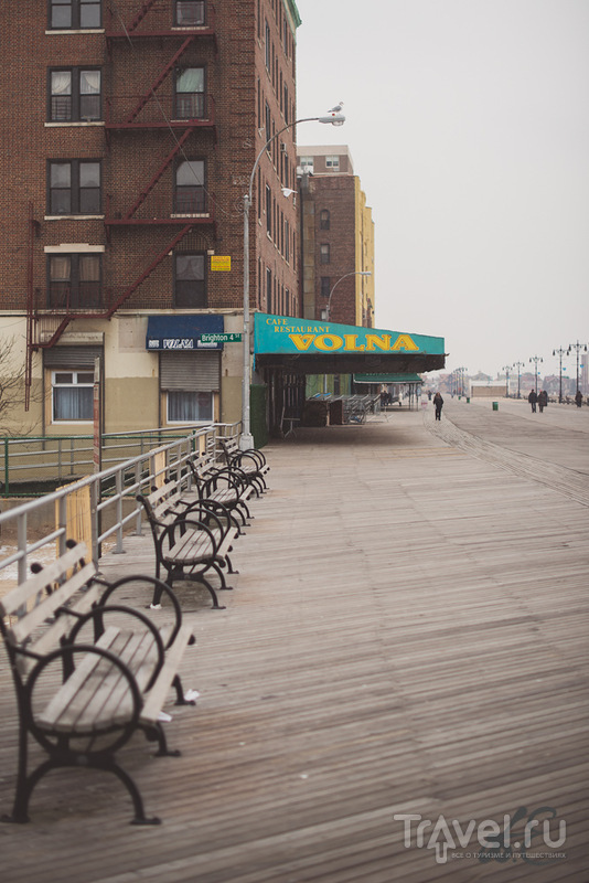 New-York trip. Brighton Beach / США