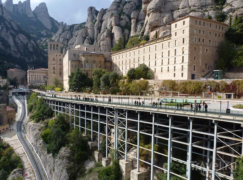 Монастырь Монтсеррат, Испания / Фото из Испании