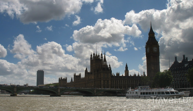 Из Лондона до Гринвича по Темзе / Великобритания