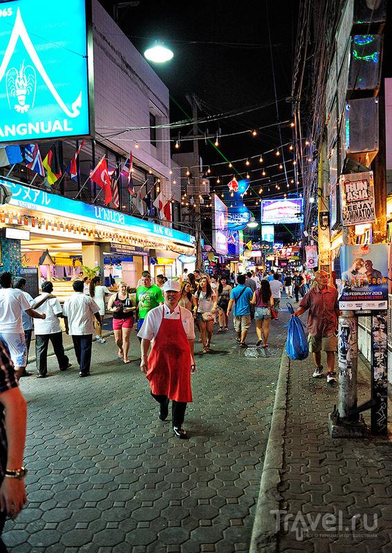Нa Walking street в Паттайе, Таиланд / Фото из Таиланда