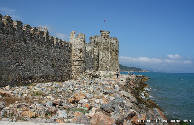 Крепость Мамуре в Турции / Фото из Турции