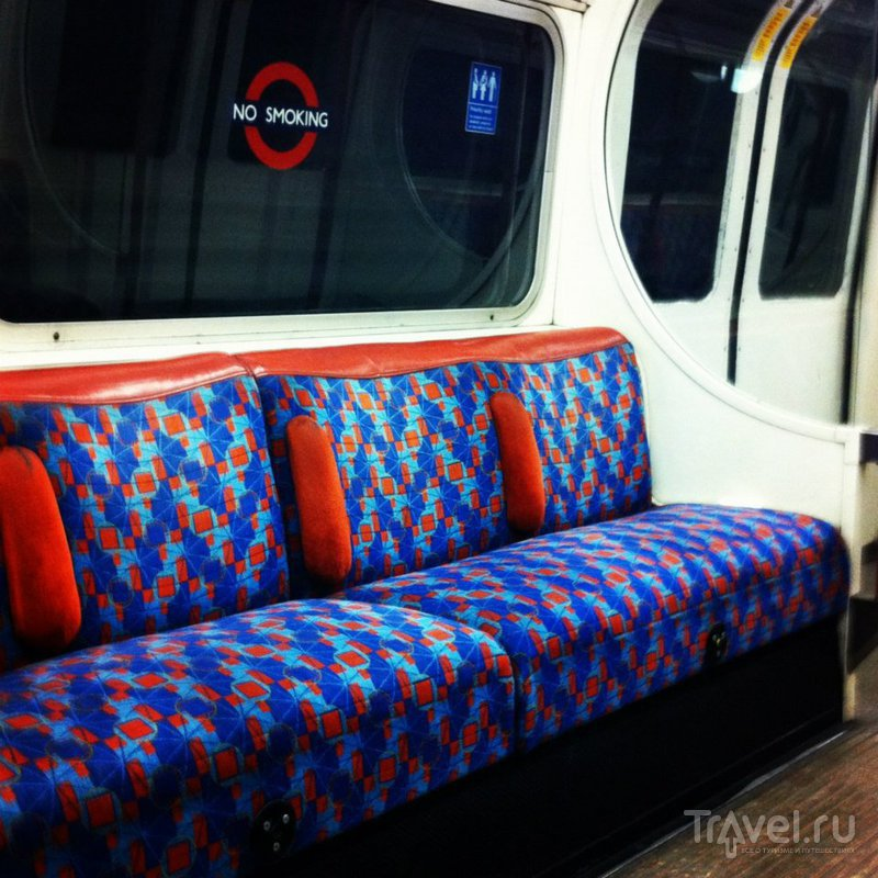 Разный транспорт в путешествии Москва - Лондон - Портсмут - Лондон - Сантандер - Мадрид - Москва / Великобритания
