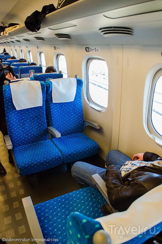 Скоростные японские поезда Синкансэны / Япония