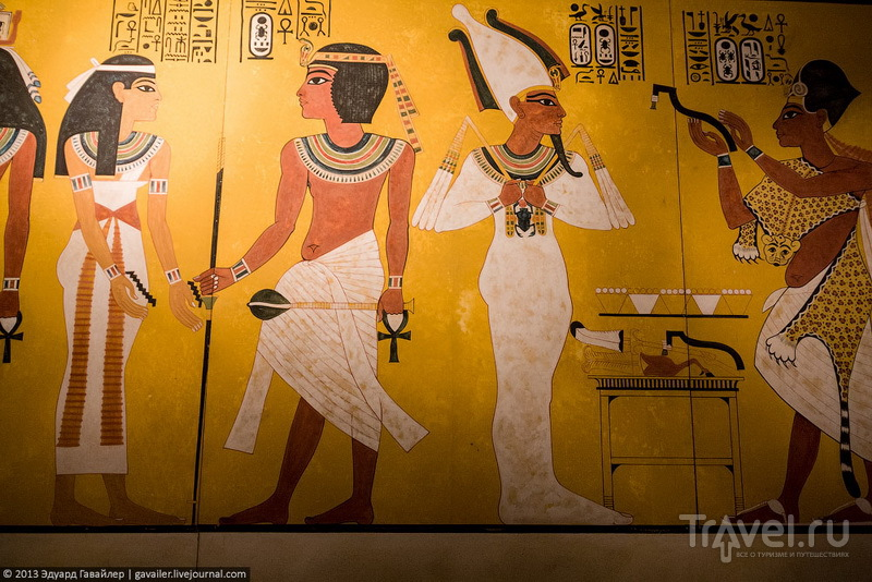 Сокровища гробницы Тутанхамона / Фото из Египта