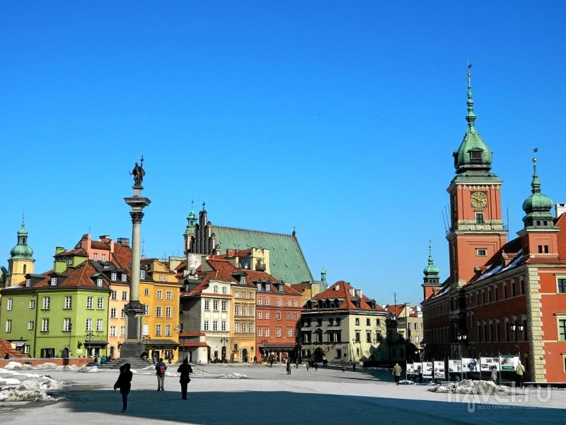 Замковая площадь Варшавы, Польша / Фото из Польши