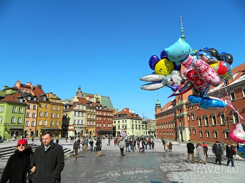 Варшава, Старый город / Фото из Польши