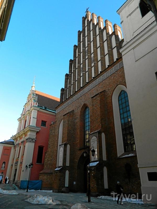Собор Святого Иоанна Крестителя в Варшаве, Польша / Фото из Польши