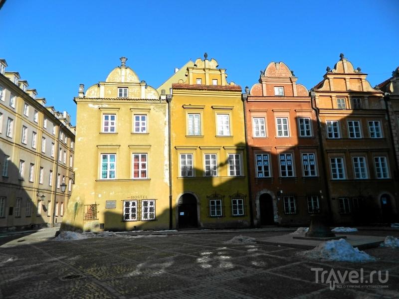 Площадь Канония в Варшаве, Польша / Фото из Польши