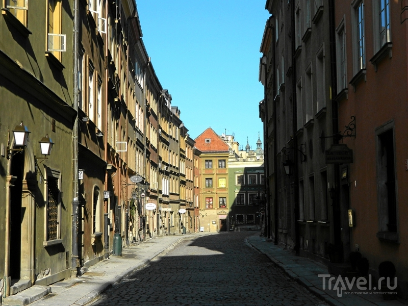 Улица Piwna в Варшаве, Польша / Фото из Польши