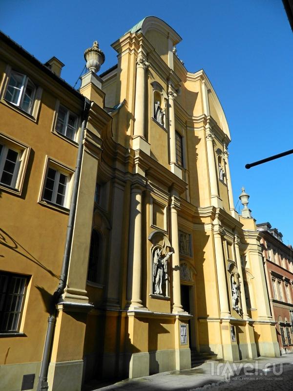 Костел Святого Мартина в Варшаве, Польша / Фото из Польши