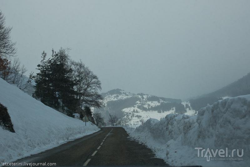 Метель, Каркассон и зима / Андорра