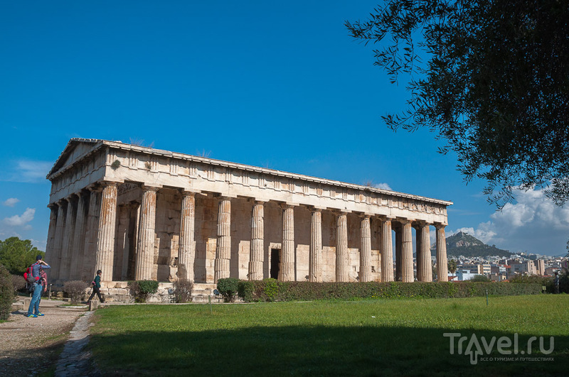 Гефестейон - храм Гефеста в Афинах, Греция / Фото из Греции