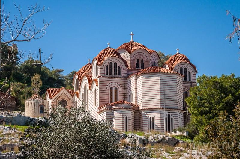Церковь Святой Марии в Афинах, Греция / Фото из Греции