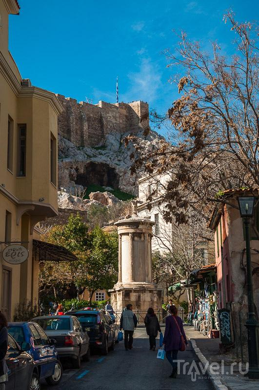 Плака в Афинах, Греция / Фото из Греции
