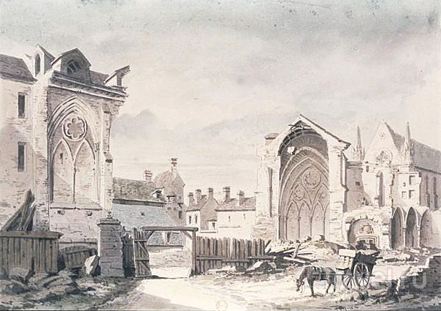 Аббатство Сен-Жермен-де-Пре: раскрашенная готика / Франция