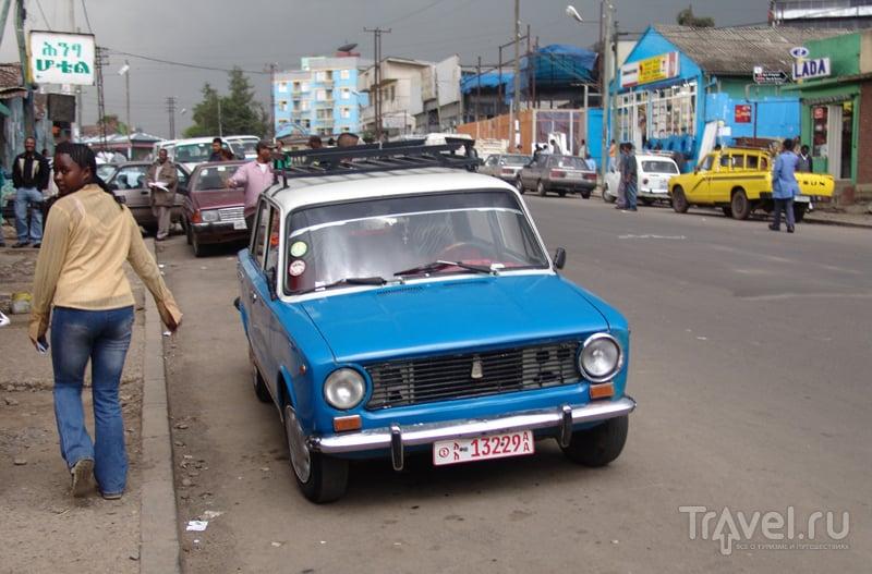 "Автопробег ""Москва-Кейптаун"". Адис-Абеба / Эфиопия"