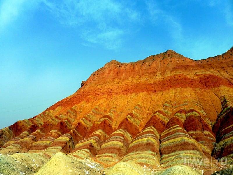 Самые позитивные горы на планете! Национальный геопарк Чжанъе ... | 600x800