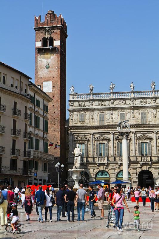 Башня Гарделло в Вероне, Италия / Фото из Италии